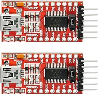 FT232RL Chipset FTDI USB 2.0 to TTL Serial Adapter Module for Arduino Moni Pro S