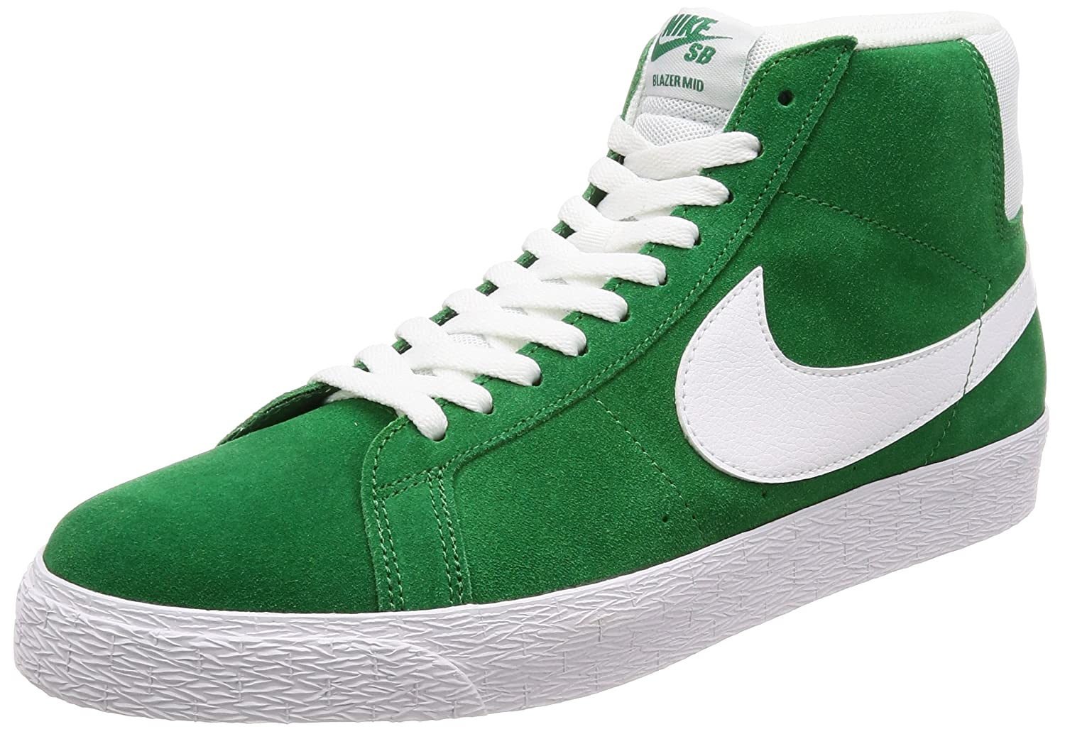 quality design d232e e8867 Amazon.com  Nike Men s SB Zoom Blazer Mid, Pine Green White, 10.5 M US   Health   Personal Care