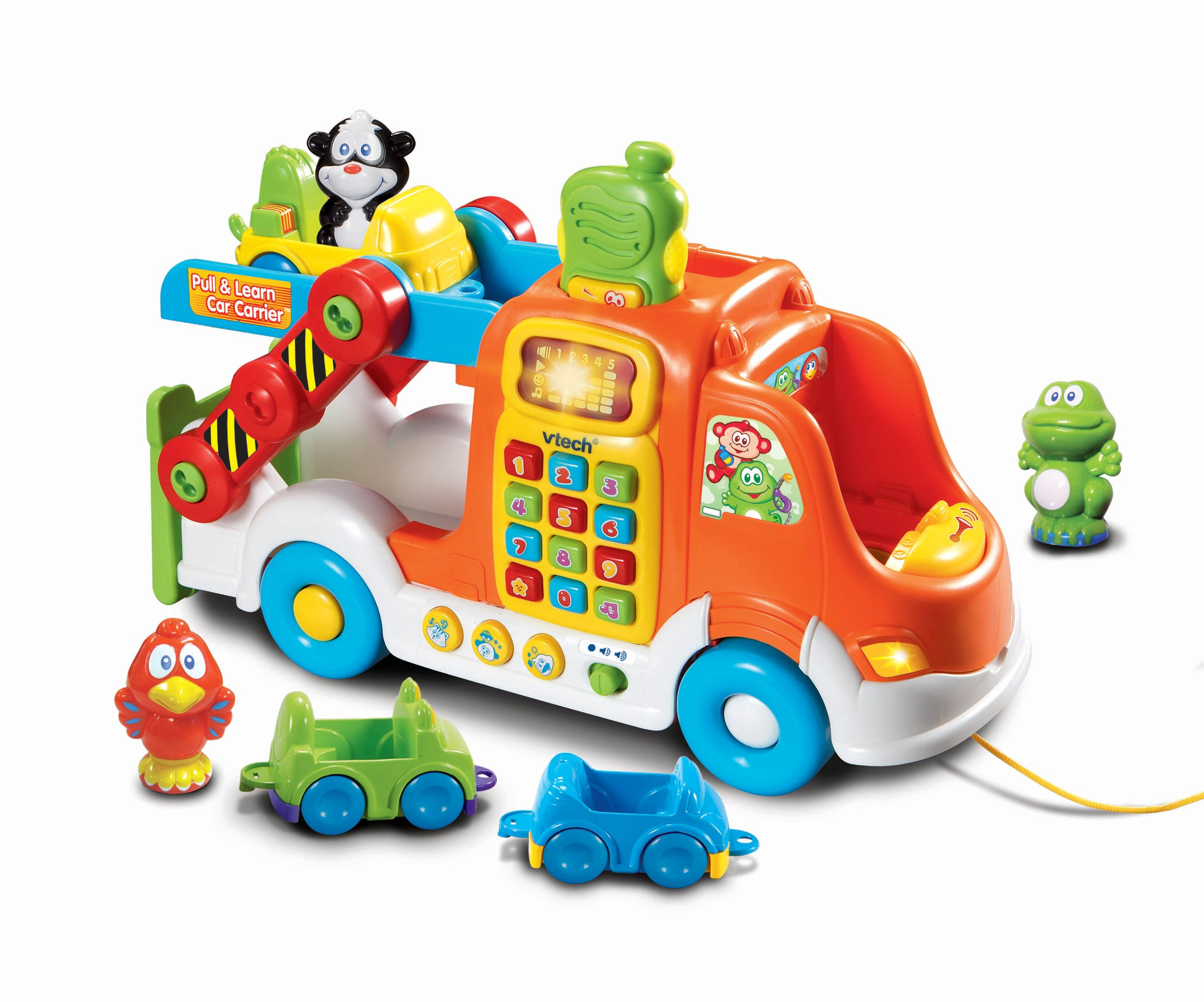 VTech Pull and Learn Car Carrier Pull