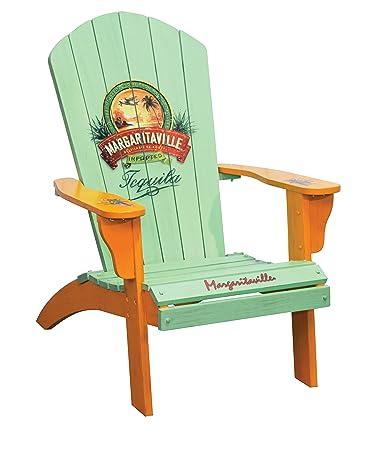 Delicieux Amazon.com : Margaritaville Outdoor Adirondack Chair, Tequila : Garden U0026  Outdoor