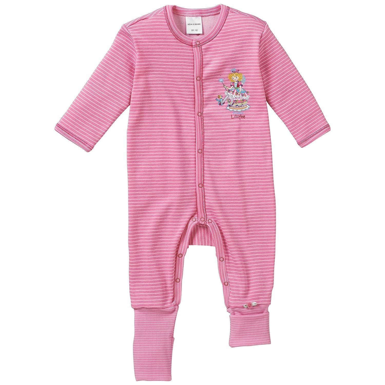 Schiesser Mädchen Zweiteiliger Schlafanzug Baby Anzug mit Vario Fuß Schiesser AG 145853
