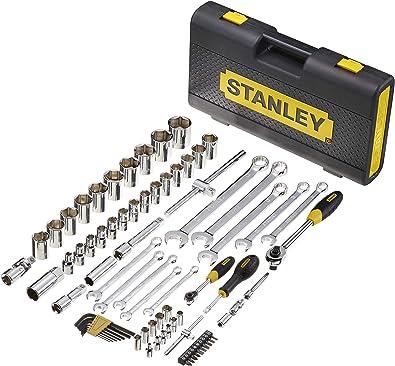 Stanley Micro Toug - Caja de Llaves (75 Piezas): Amazon.es: Bricolaje y herramientas