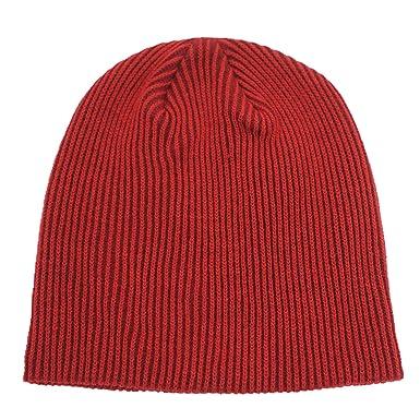 Decentron Unisex Men s Daily Beanie Classic Knit Ribbed Beanie Hat Thin  Skull Cap Winter Hats Dark b11c5826b74