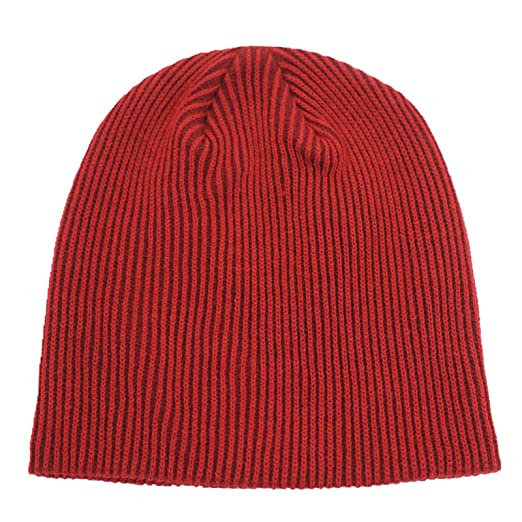 627b6d006fb Amazon.com  Connectyle Unisex Men s Daily Beanie Classic Knit Ribbed Beanie  Hat Thin Skull Cap Winter Hats Dark Red  Clothing
