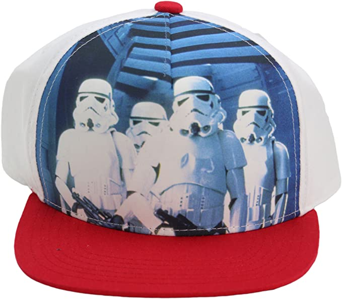 457e043d9a6 Image Unavailable. Image not available for. Color  Star Wars Concept One  Stormtroopers Youth Snapback Adjustable Cap Hat