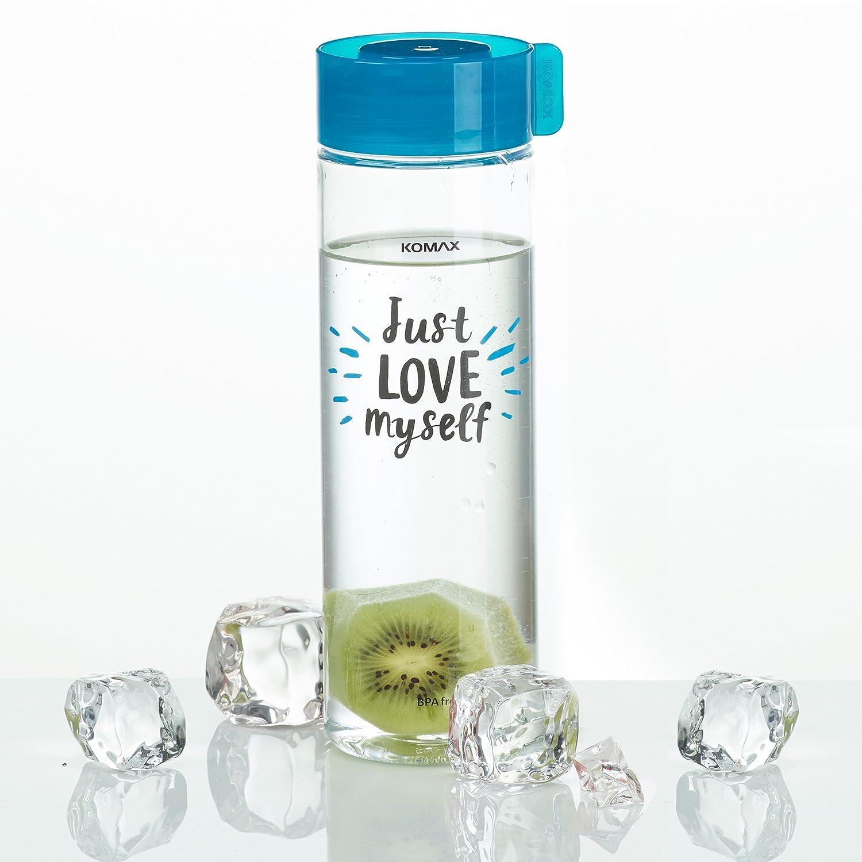 Amazon.com: Komax - Botella de agua y zumo (peso ligero y ...
