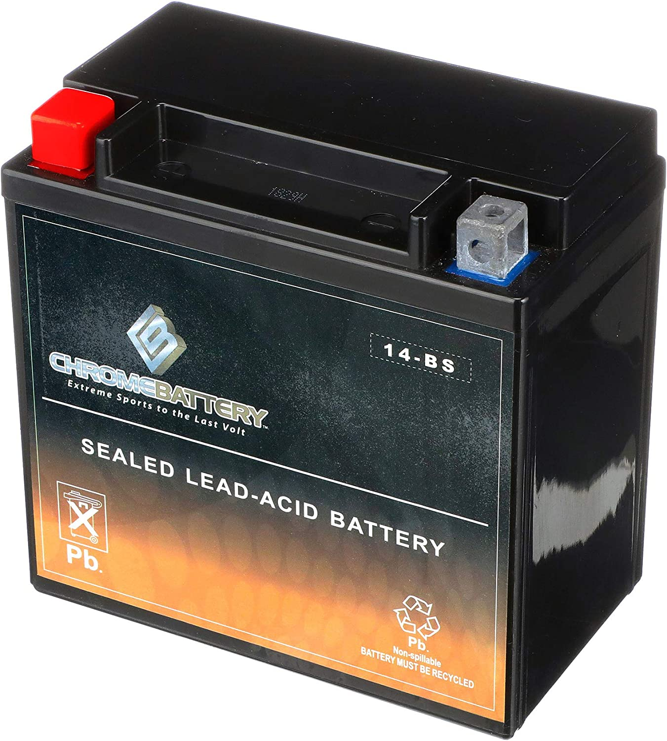 YTX14-BS ATV Battery Factory sealed Replacement for Honda TRX 500 420 450 350 300 Rubicon Foreman Rancher Rechargeable