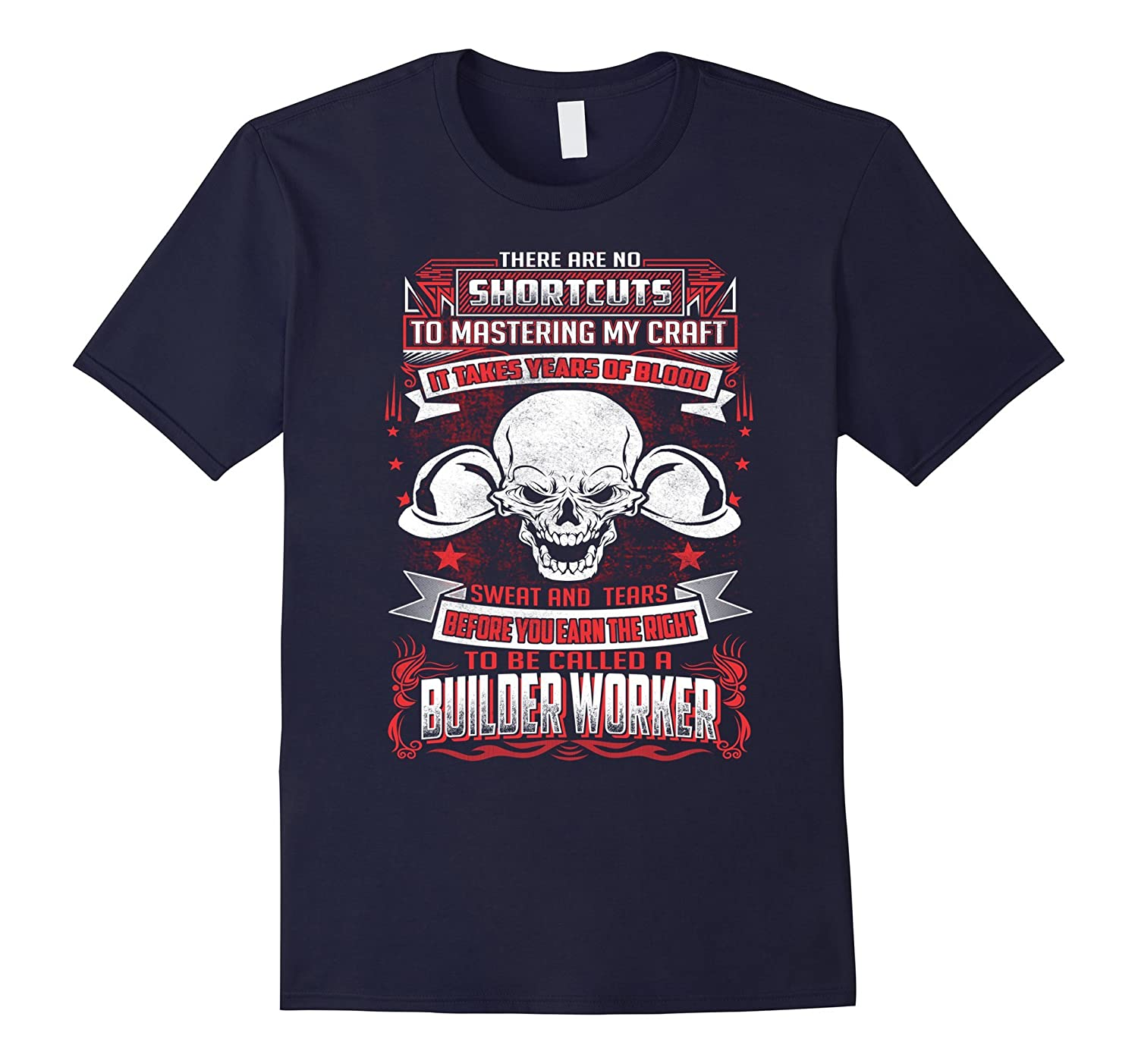 To Be Called A Builder Worker T- Shirt-TD