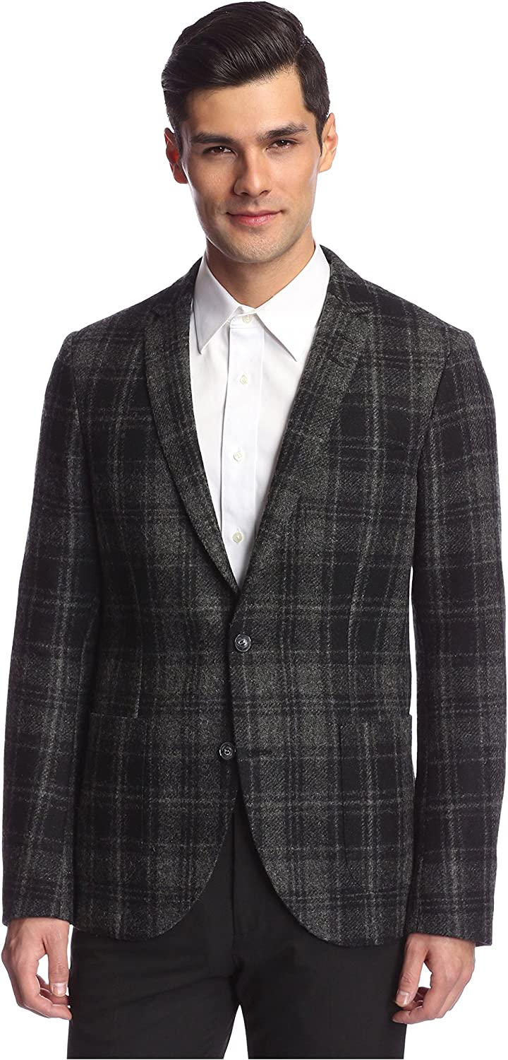 B0166FFOFI Tiger of Sweden Men's Hoyt 2-Button Checked Sportcoat 81DE4qHk6FL.UL1500_
