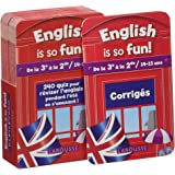 English Is So Fun (de la 3e a la 2e) - Cahier de vacances
