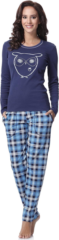 Italian Fashion IF Pijama Camiseta y Pantalones Mujer 15R2L31 0223