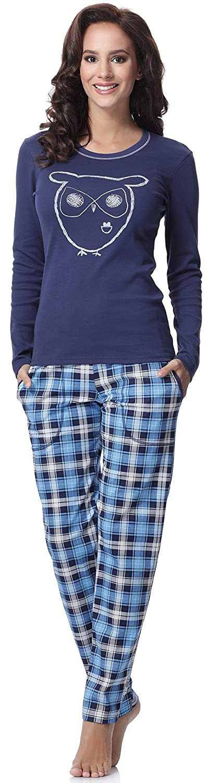 TALLA XL. Italian Fashion IF Pijama Camiseta y Pantalones Mujer 15R2L31 0223