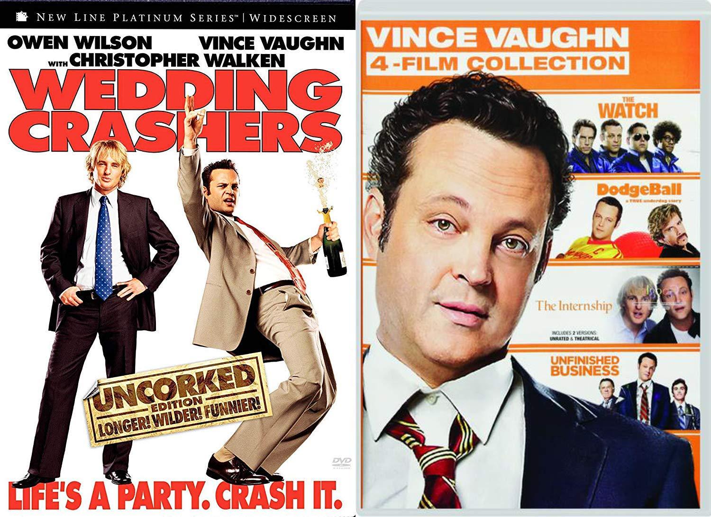 Watch Wedding Crashers Online.Amazon Com Crash With Vince Vaughn 5 Movie Comedy Pack Wedding