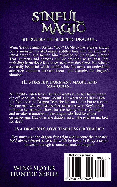 Amazon: Sinful Magic (wing Slayer Hunter) (volume 4) (9780996716925):  Jennifer Lyon: Books