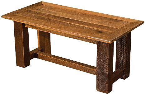 Amazon.com: Barnwood Open Coffee Table - Custom Sizes ...