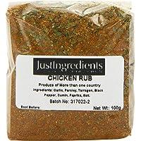 JustIngredients Essential Chicken Rub Adobo para Pollo - 5 Paquetes de 100 gr - Total: 500 gr