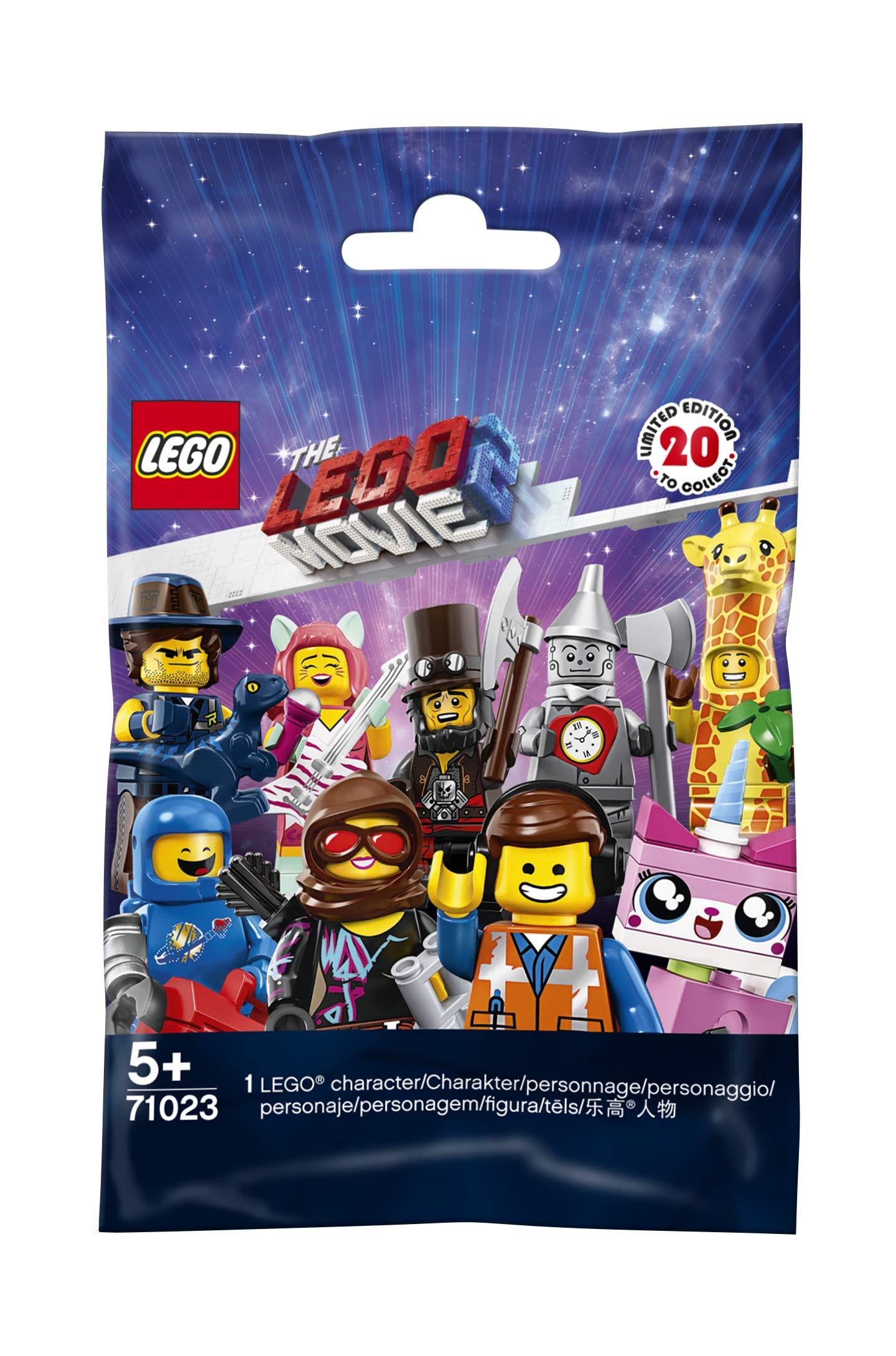 LEGO Movie 2 71023 Minifigures, Collectible Toy Variety of Styles (Style Picked at Random) - 1 Unit