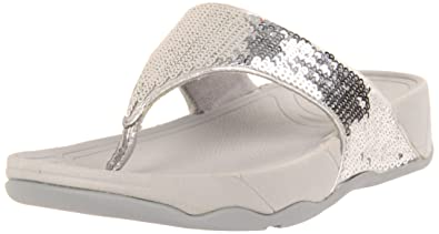 fitflop electra silver size 8