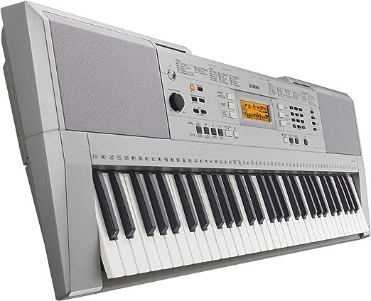 Yamaha YPT-340 61keys piano digital - Teclado electrónico (945 mm, 368 mm, 121 mm, 4,4 kg, LCD, 61 llaves)