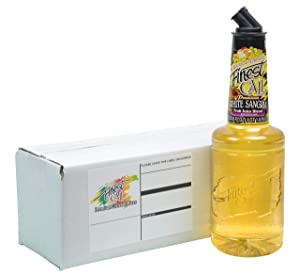 Finest Call Premium White Sangria Drink Mix, 1 Liter Bottle (33.8 Fl Oz), Individually Boxed