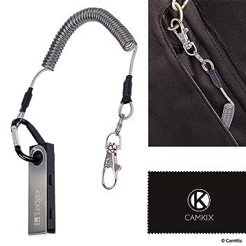 CamKix Cable de Protección Compatible con Cartera de Bitcoin ...