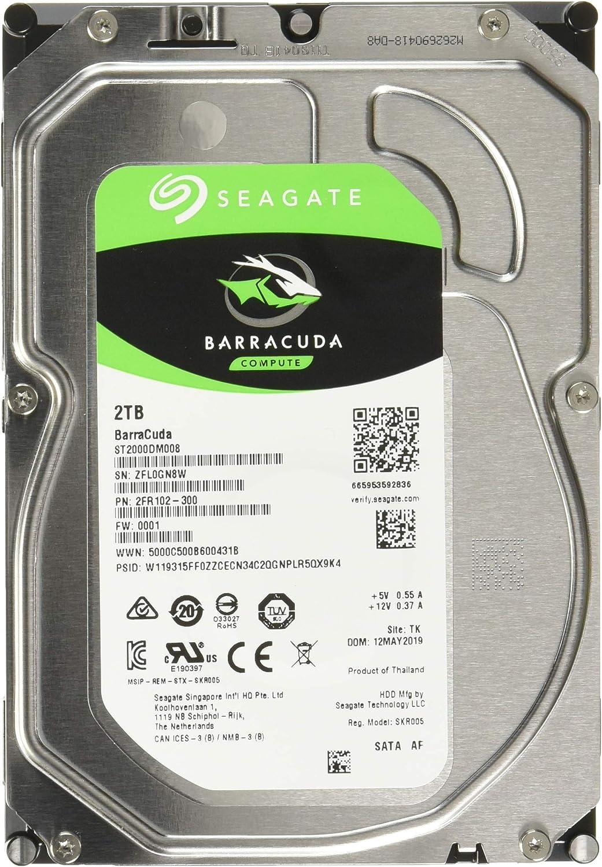 Seagate St2000dm008 Interne Festplatte 3 5 Zoll 2 Tb Computer Zubehör