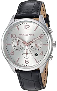 fec0cc9d3570 Amazon.com  Michael Kors Watch MK2293 Parker Navy Leather Strap 39mm ...