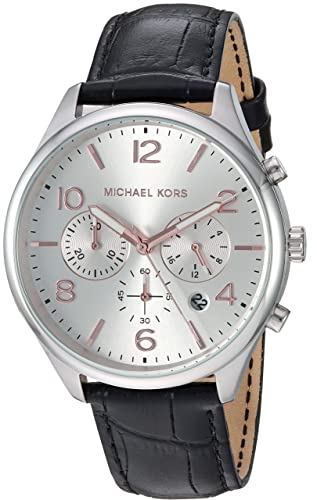 3adca1b4fdad7 Buy Michael Kors Merrick Analog Silver Dial Men s Watch - MK8635 Online at Low  Prices in India - Amazon.in