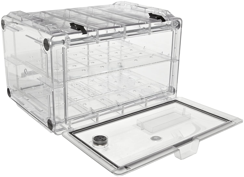 Bel-Art Secador 4.0 Clear Horizontal Profile Desiccator Cabinet; 1.9 cu. ft. (F42074-0000): Science Lab Desiccator Accessories: Amazon.com: Office Products