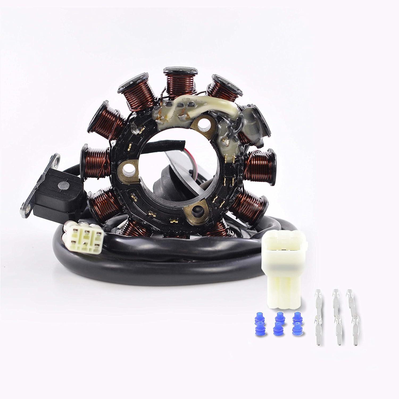 Generator Stator For Yamaha WaveRunner XL1200 XLT1200 66V-85510-00-00 GP1200 XL1200 XLT1200 XR1800 GP 1200 R//XR 1800 1999-2005 OEM # Repl
