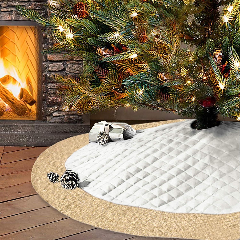 Christmas Tree Skirt Christmas Decor Monogram Christmas Tree Skirt Monogram Tree Skirt Personalized Tree Skirt Monogrammed Tree Skirt