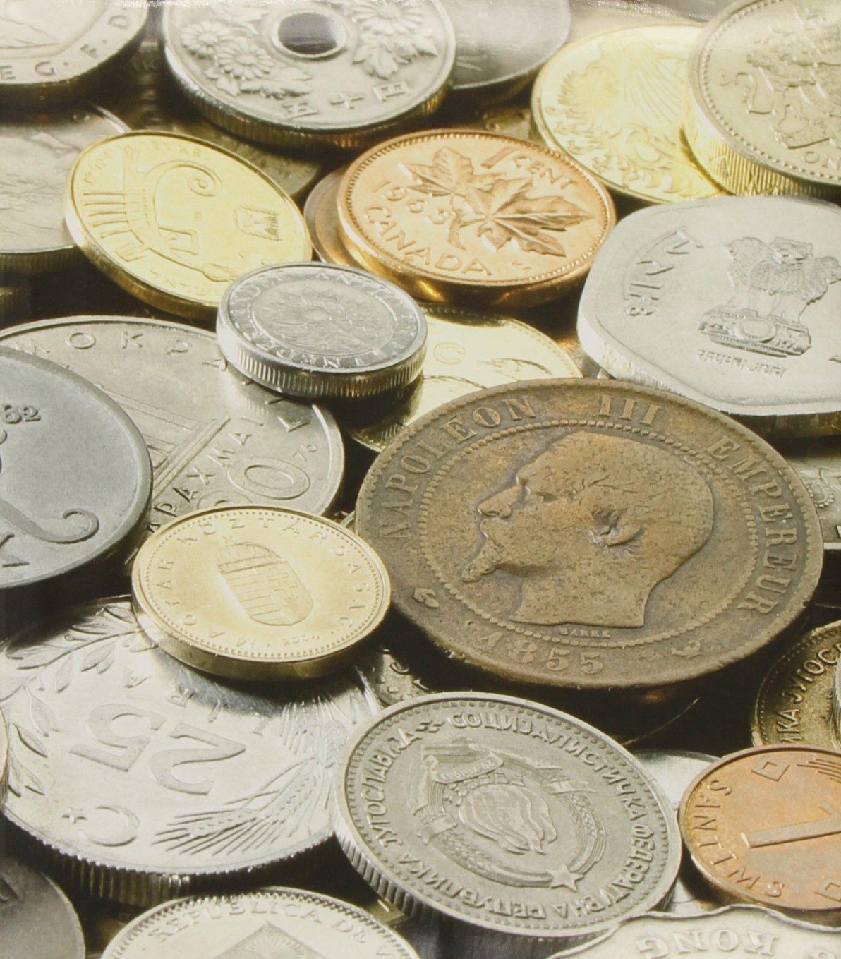 Münzalbum Coins Im Optima-Format, Mit 5 Hüllen: Münzen Sammelalbum
