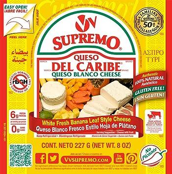 V&V Supremo, Queso Del Caribe Queso Blanco Cheese, ...