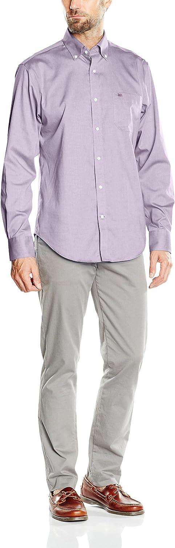 Pedro del Hierro Camisa Hombre Lila 3XL: Amazon.es: Ropa y ...