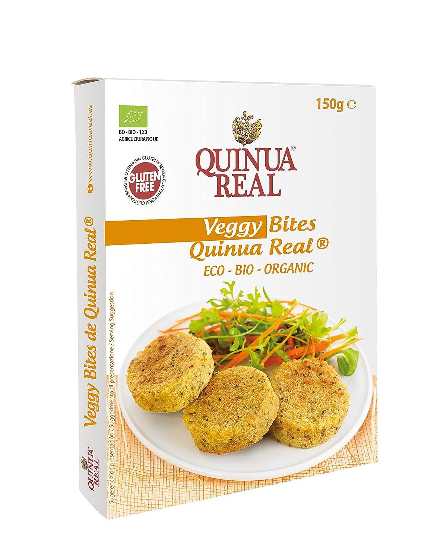 Quinua Real Veggy Bites Precocinado - 12 Paquetes: Amazon.es: Alimentación y bebidas