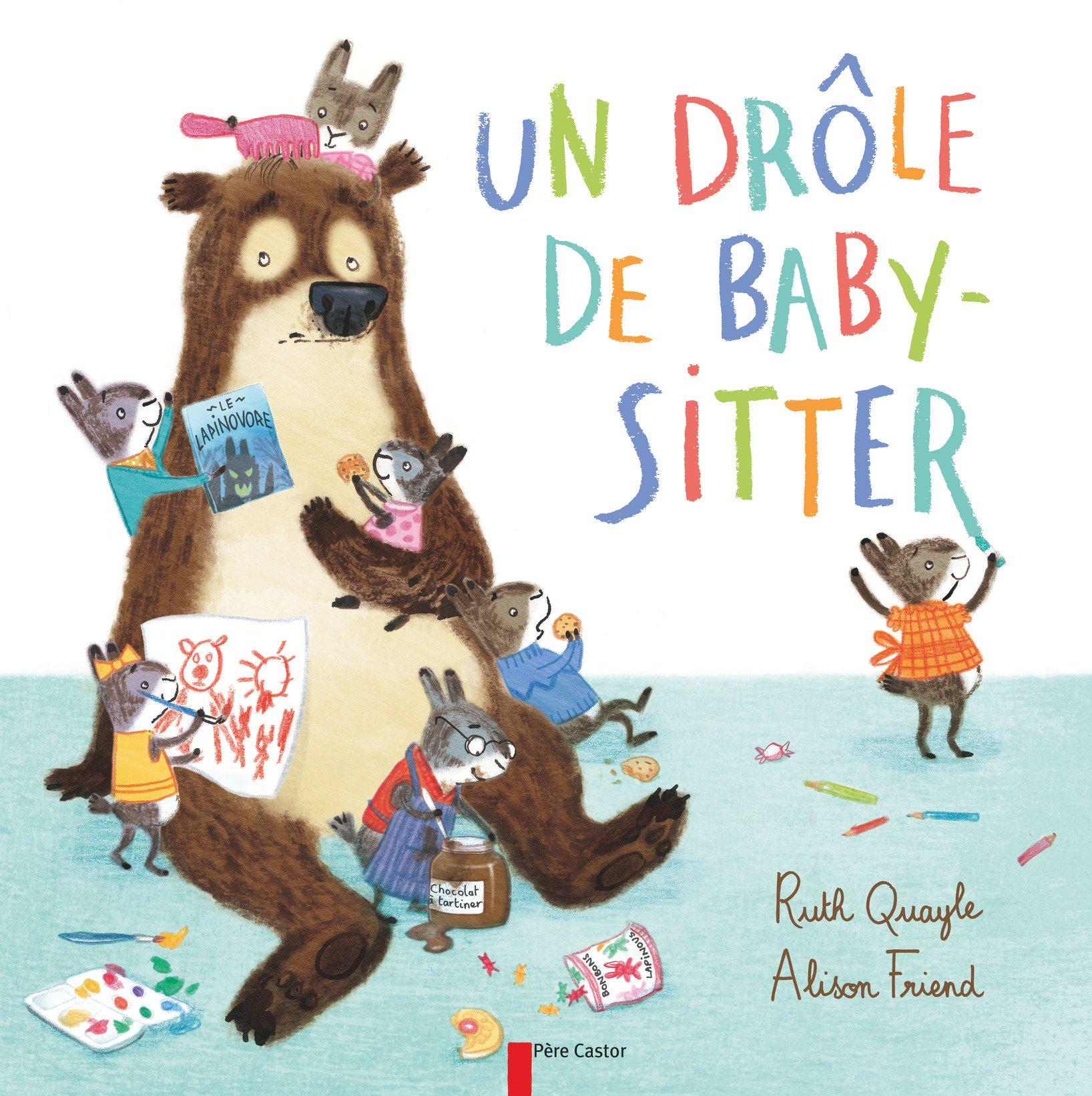 carte d annonce baby sitting Un drôle de baby sitter (Les albums du Père Castor) (French