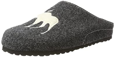 Supersoft Damen 522 170 Pantoffeln, Grau (Grey), 38 EU