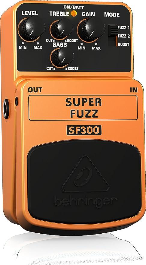 Behringer SF300 - Pedal de distorsión para guitarra, color naranja ...