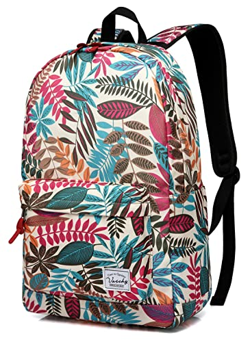 Backpack for Girls,Vaschy Stylish Roomy Casual Daypacks Book Bag Backpack Rucksack Durable for Travel and Sports