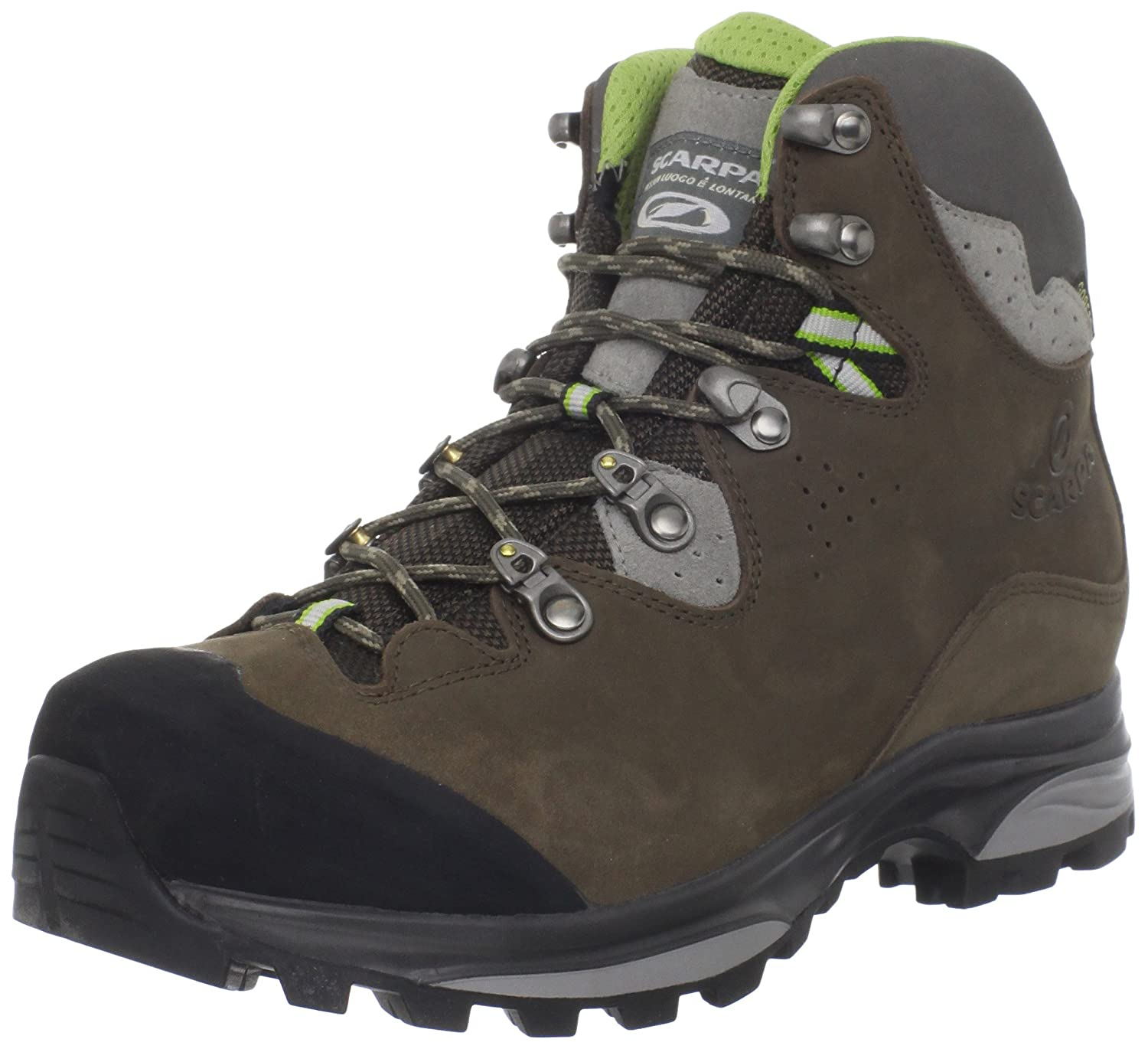SCARPA Women's Hunza GTX Hiking Boot B005LCPXK4 42 M EU / 10 B(M) US|Dark Brown