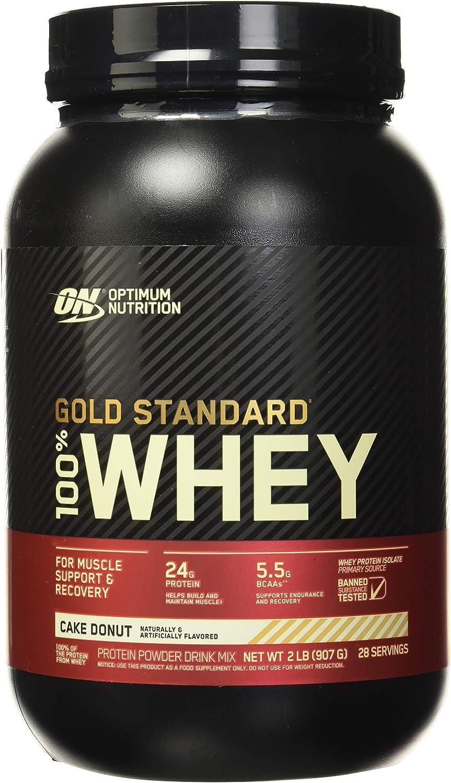 Optimum Nutrition Nutrición Óptima - Gold Standard 100% Whey Cake Donut 2Lbs 900 g