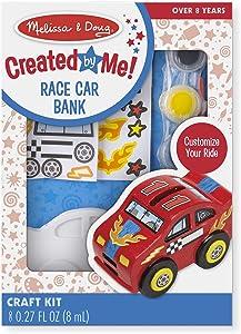 Melissa & Doug Race Car Bank - DYO, 1 EA (8863)
