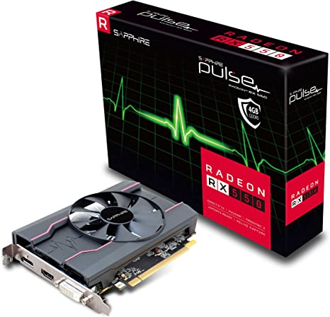 Amazon Com Sapphire Pulse Radeon Rx 550 4gb Gddr5 Graphics Card Electronics