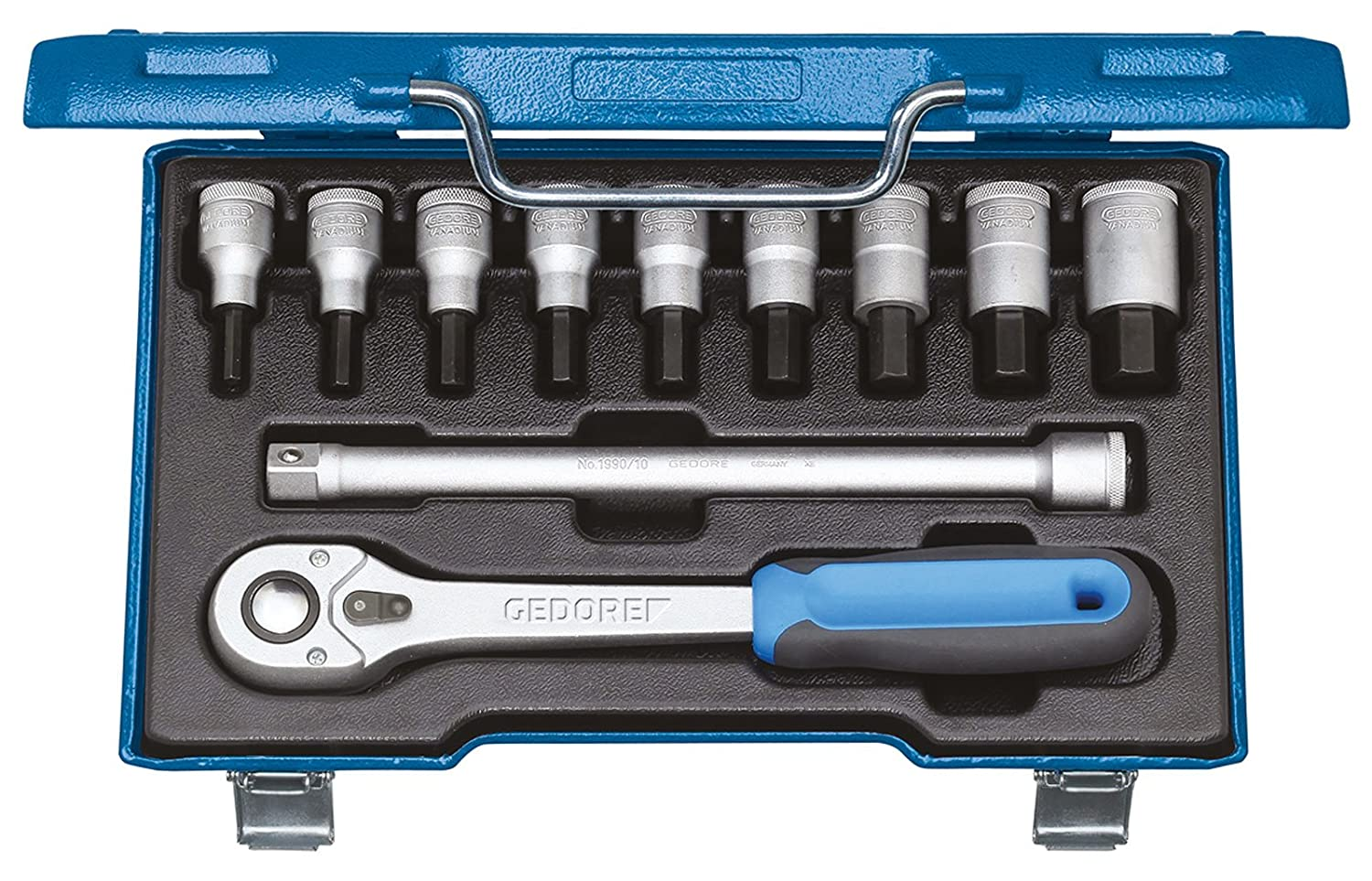 GEDORE 25 PK 10 Double Ended Socket Wrench 10 mm