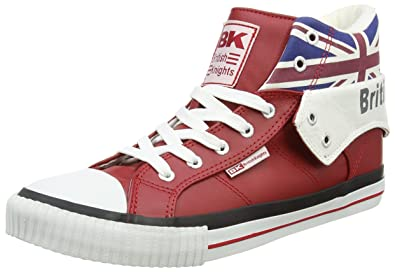 769a9394f5d7 British Knights Roco Union Jack Baskets montantes unisexes - rouge - Red  (Red Multi 2