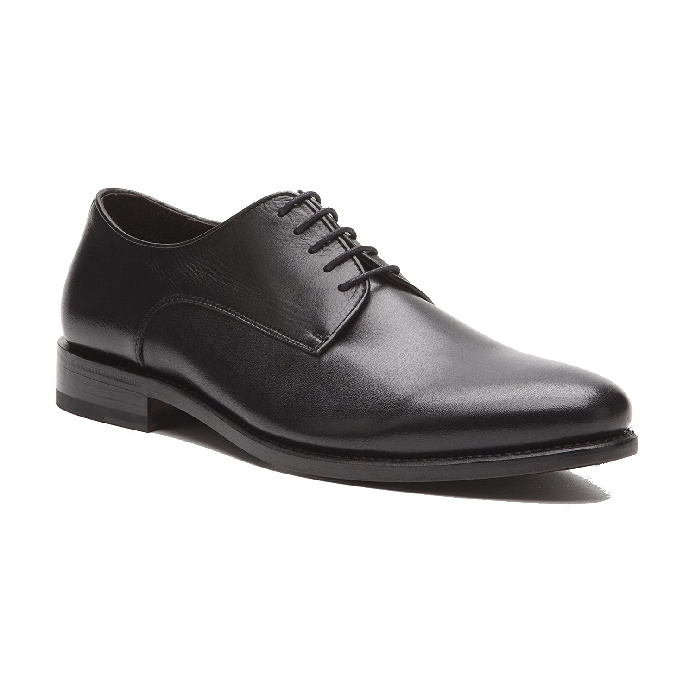 Prime Schuhes Roma feinstes Rahmengenäht Schwarz Box Calf schwarz Schnürschuh feinstes Roma Kalbsleder Schwarz 1f4337