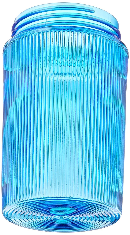100W Power RAB Lighting GL100B 100 Series Vaporproof Threaded Glass Globe Blue