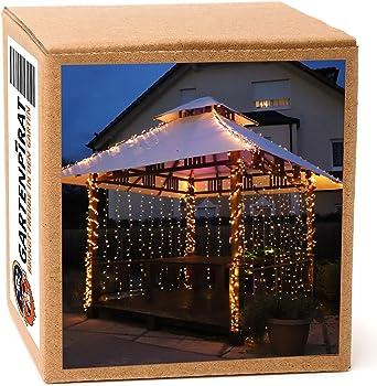 600 LEDs Weihnachten Beleuchtung Vorhang Lichterkette Fenster Lichtervorhang z8