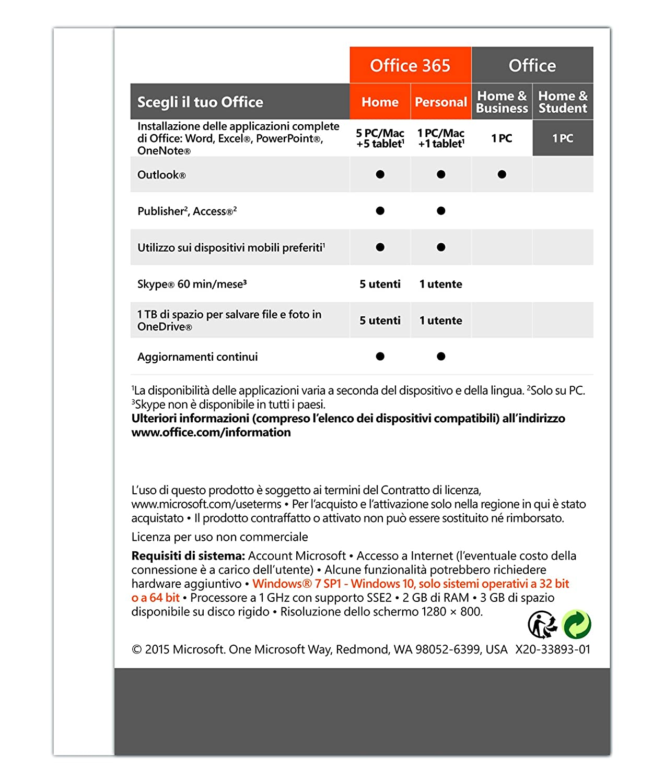 Microsoft Office 2016 - Home & Student: Amazon.co.uk: Electronics