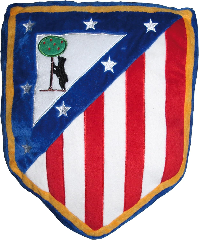 Atlético de Madrid Cojín Tecnic Azul 30x40: Amazon.es: Hogar